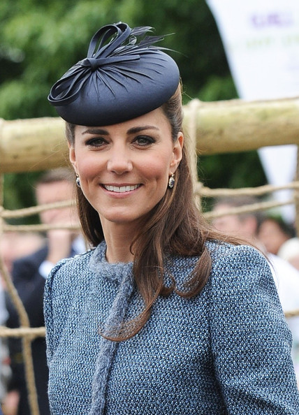Blue Jubilee Fascinator Kate Middleton