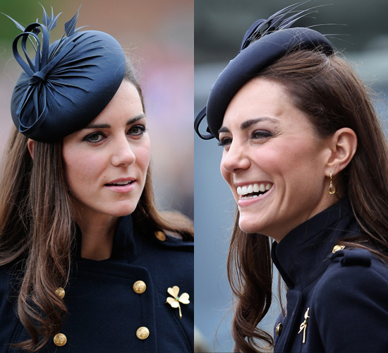 Kate Middleton Blue Facinator