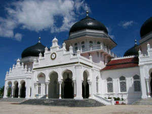 Baiturrahman Mosque Banda Aceh Indonesia