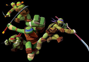 10-Teenage Mutant Ninja Turtles
