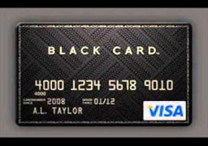 3-Visa Black Card