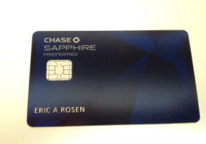 5-Chase Sapphire Preferred Card