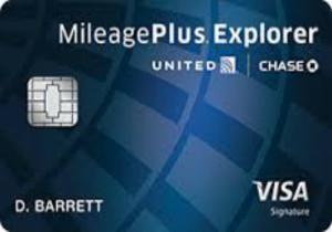 9-United Mileageplus Explorer Card