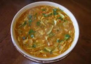 Cabbage Sambar
