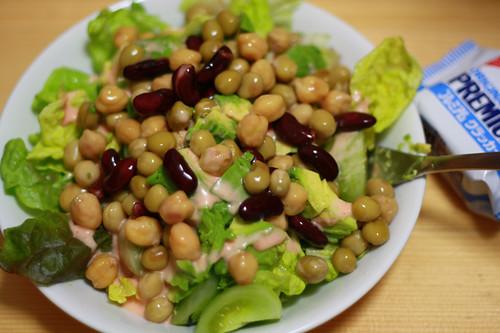 Garbanzo Beans – Sesame Salad