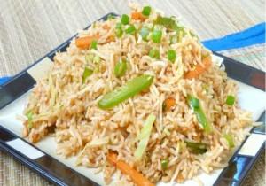 Shezwan rice