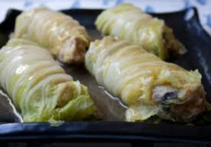 Chinese prawn cabbage